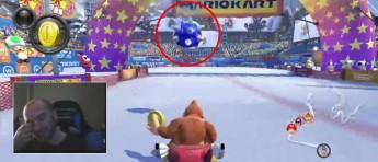 Verdensrekord i «Mario Kart» ødelagt av blåskall på målstreken