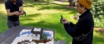 Se nyskapende «Minecraft Earth» i aksjon