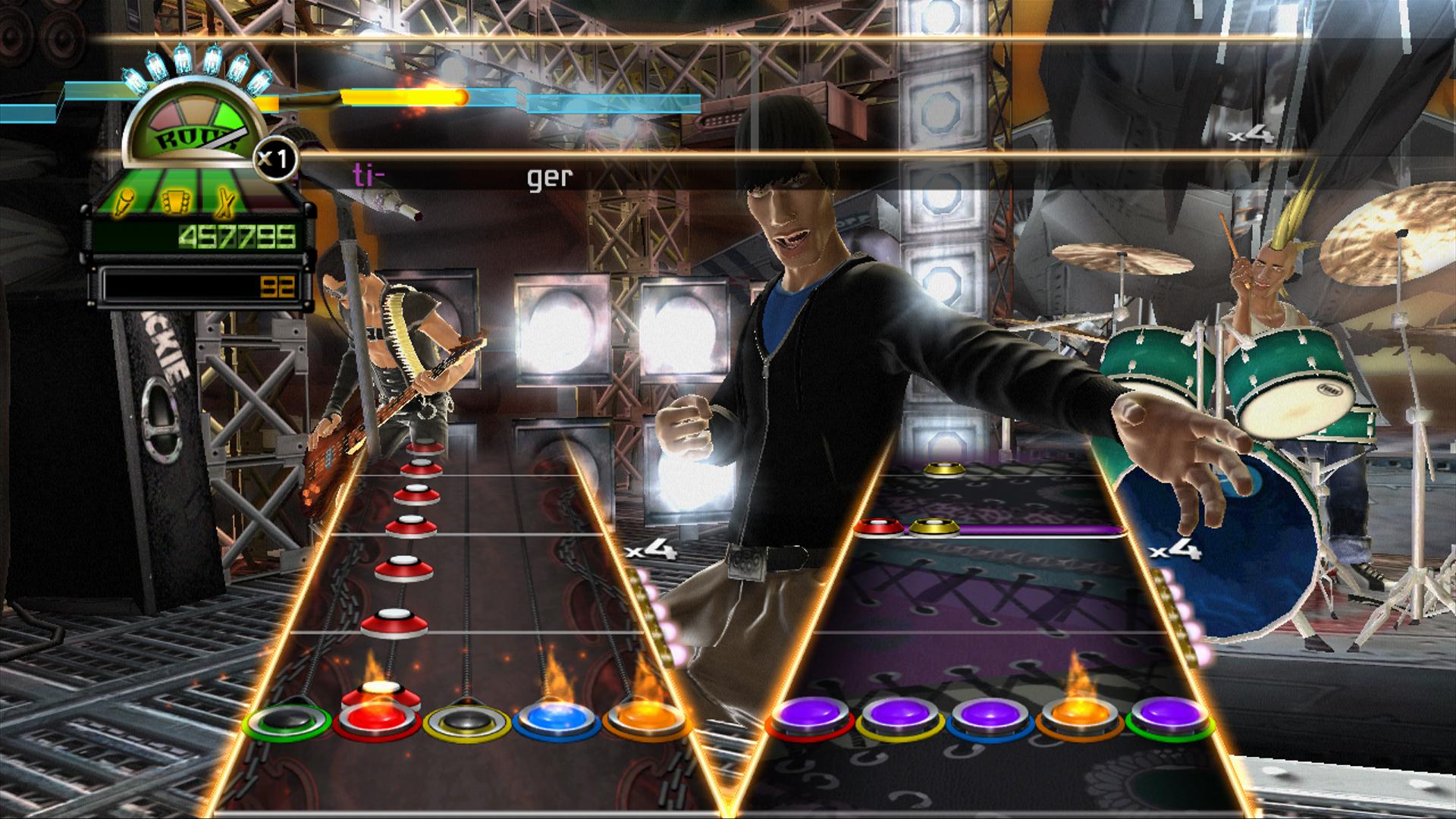 Guitar Hero: World Tour - PressFire no