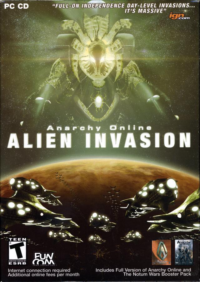 Anarchy Online: Alien Invasion - PressFire no