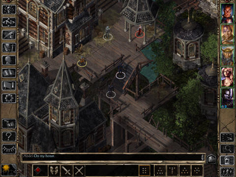 Baldur's Gate II: Enhanced Edition - PressFire no