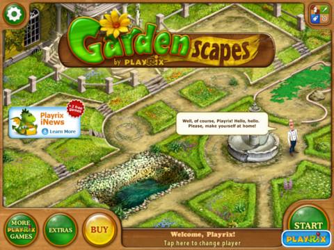 Garden Scapes Pressfireno
