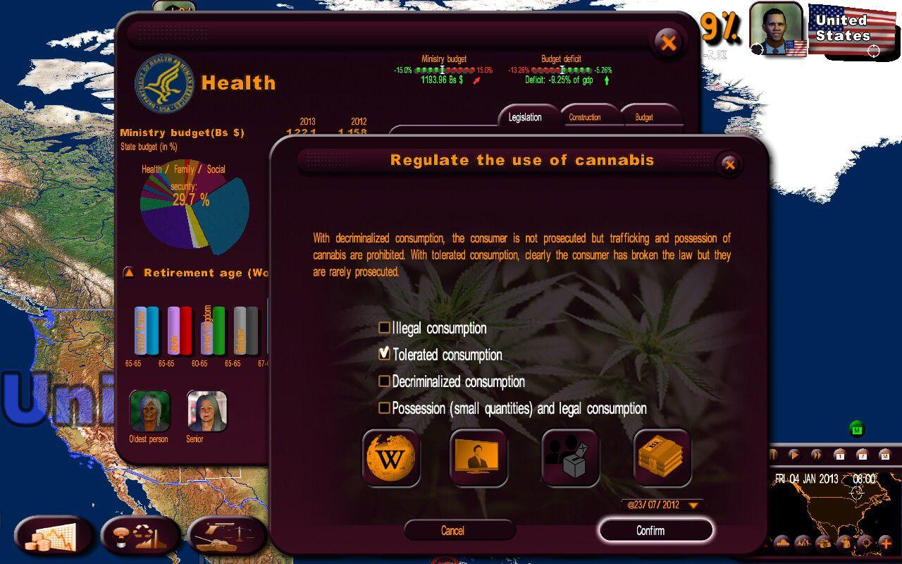 Masters Of The World: Geo Political Simulator 3