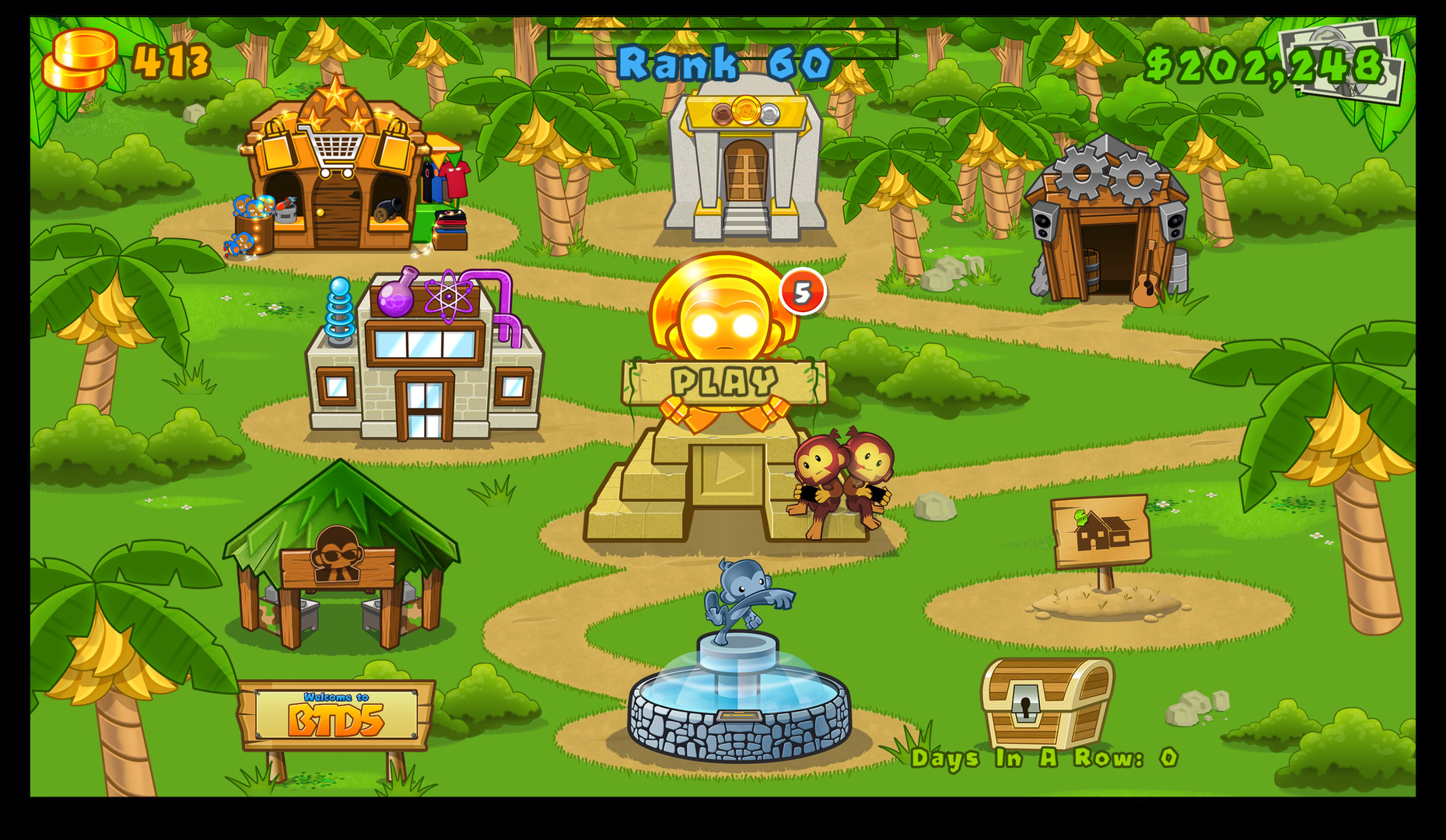 Bloons: TD 5 - PressFire no