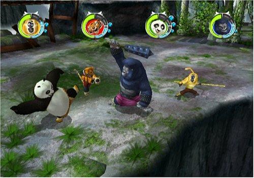 kung fu panda legendary warriors pressfire no