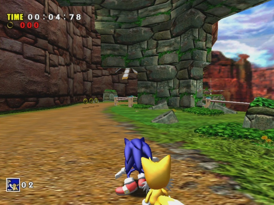 Sonic Adventure: DX Director's Cut - PressFire no