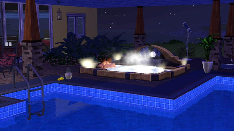 The Sims 3: Outdoor Living - Stuff - PressFire no