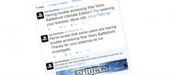 Store problemer for «Star Wars: Battlefront» på lanseringsdagen
