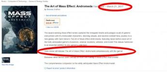 Ooops… er dette datoen til «Mass Effect: Andromeda»?