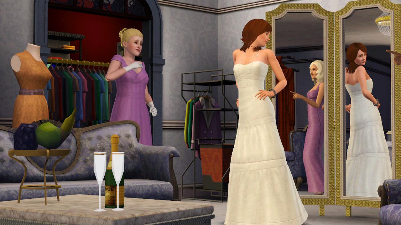 Как сделать так чтобы симсы были женаты