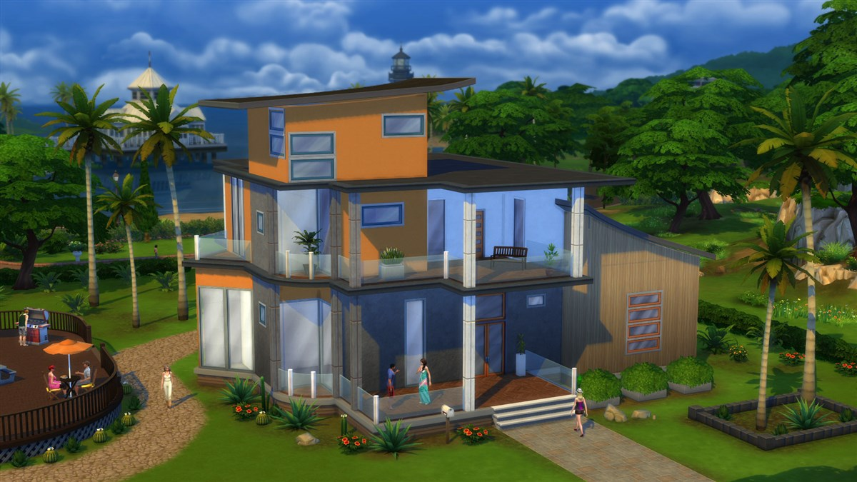 Anmeldelse the sims 4 - The sims 3 case moderne ...