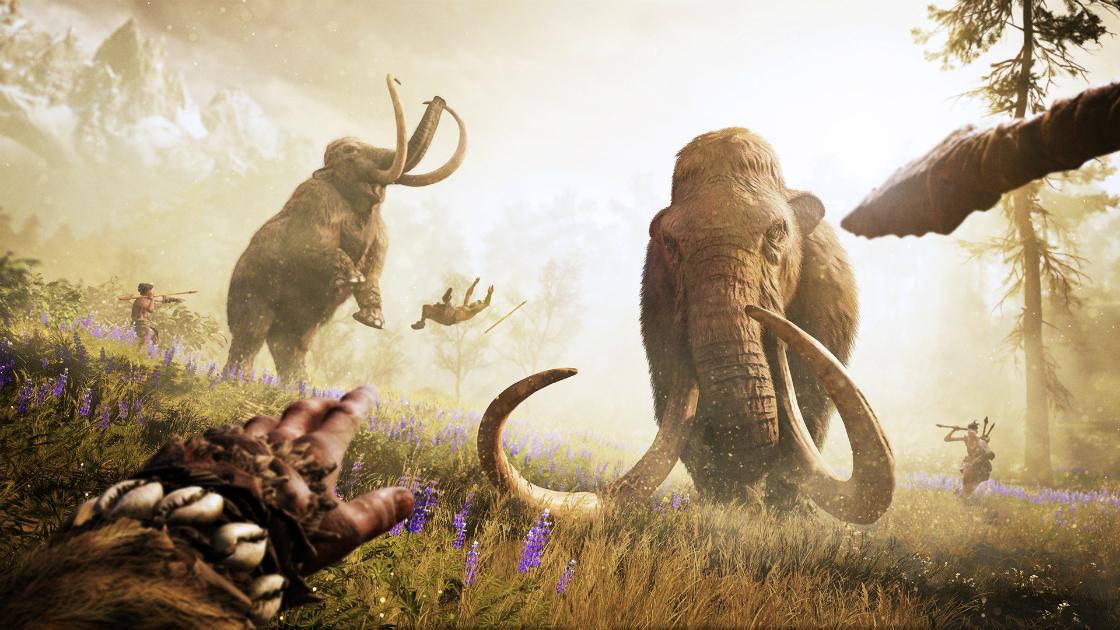 når levde mammutene